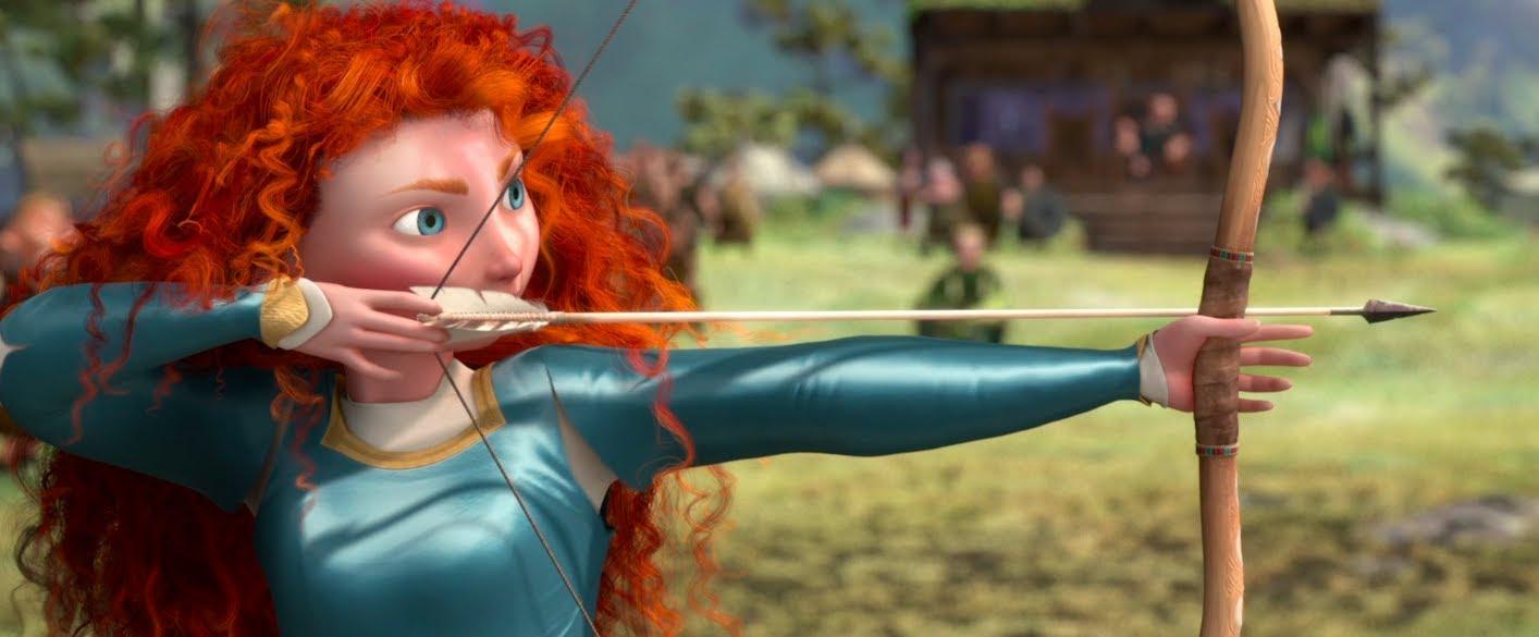 """Scena del film """"Brave"""""""